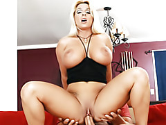 Plowing milf on her couch tubes