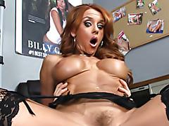 Deep dicking a redheaded milf tubes