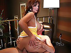Milf has to ride him tubes