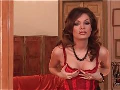 Glamour goddess kyla fox in lingerie tubes