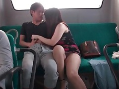 Blowjob on public bus from japanese girl tubes