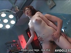 Creampie fucked into japanese pussy from behind tubes