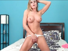 Tight ass pornstar randy moore teases camera tubes