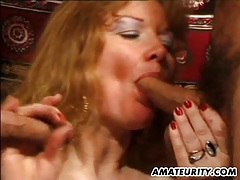 Mature amateur wife anal fuck with facial shots tubes
