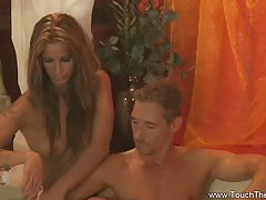 Exotic blonde milf massage tubes