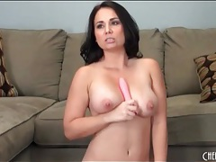 Voluptuous brunette does dildo dp sex tubes