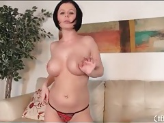 Solo loni evans strips lingerie and masturbates tubes