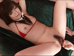 Hairy box fingered deeply during japanese porn tubes