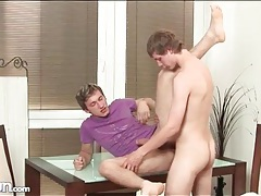 Both twinks get to top in bareback anal video tubes