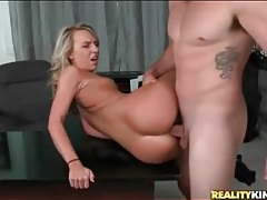 Long and thick cock fucks lean blonde girl tubes