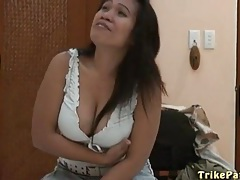 Curvy asian amateur in solo striptease porn tubes