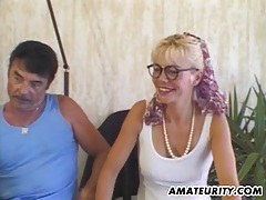 Amateur milf anal action with cum in mouth tubes