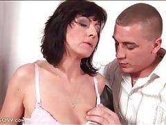 Sexy bald mature pussy eaten out tubes