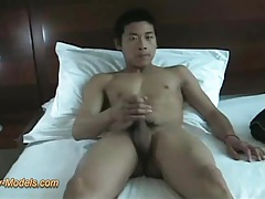 Asian muscle twink with big cock cumshot tubes