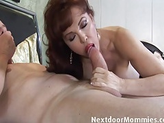 Bald guy fucks big breasted redhead tubes