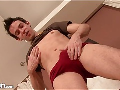 Hard young body with a sexy shaved asshole tubes