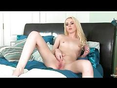 Little tits blonde samantha louise masturbates tubes