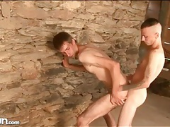 Skin and bones guys in hot anal sex video tubes