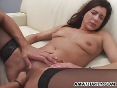 Amateur girlfriend takes 2 dicks with facial shots tubes