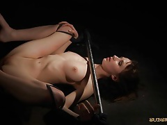 Hardcore bdsm vibrating kinky pussy for submission tubes