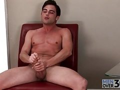 Solo preppy guy with a hard body masturbates tubes