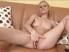 Masturbating young blonde is a true beauty tubes