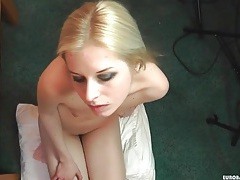 Mouth and pussy plowed in hardcore pov porn tubes