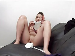 Pink hair cutie fucked in tight bald pussy tubes