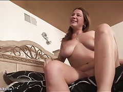 Big boobs curvy girl rides him reverse cowgirl tubes
