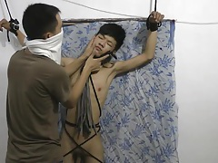 Slim asian slave boy spanking tubes
