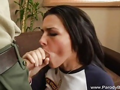 Fantastic blowjob from real beauty tubes
