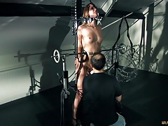 Naughty redhead slave girl screams of pain and pleasure in bdsm tubes