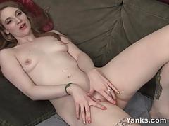 Sexy amateur ela masturbating her tiny pussy tubes