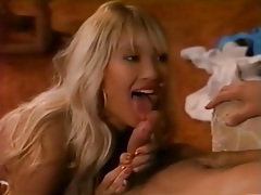 Retro porn with a blonde sucking hard dick tubes