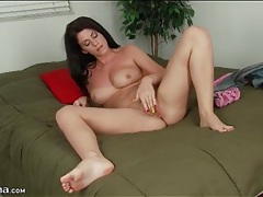 Striptease from riley grey with masturbation tubes