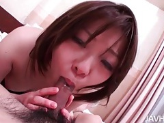 Ria tokyo sucks and sits on dick in pov porn tubes