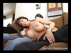 Huge fake tits on milf cocksucker deauxma tubes