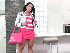 Skirt and heels on a hot girl in tease porn video tubes