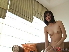 Asian striptease and foot play tubes