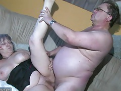 Chubby grannma and her girlfriend bbw nurse have big fun tubes