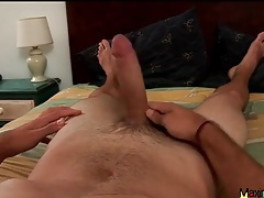 Big uncut dick looks sexy in solo video tubes