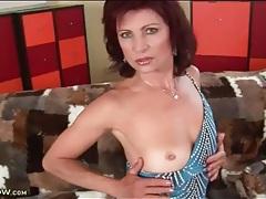 Short and slutty dress on arousing mature tubes