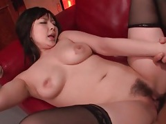 Creamy japanese pussy rides him in lusty porn tubes