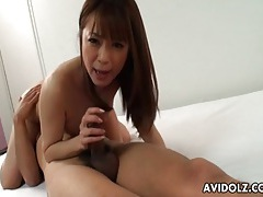 Fingering pussy of pretty girl that blows him tubes