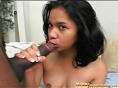 Huge black cock fucks cute slut from behind tubes