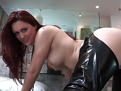 Redhead karlie montana licked in kinky lesbian porn tubes