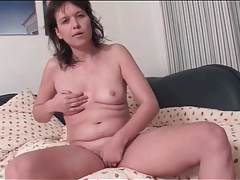 Solo milf fingers vagina and fondles her tits tubes