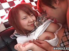 Chubby guy fucks pretty face of japanese girl tubes