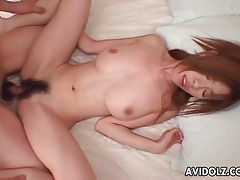 Young lady with perfect tits fucked in tight pussy tubes