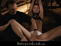 Ass injected and hardly punished hot slave in bdsm tubes